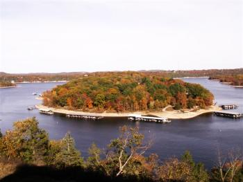 Table Rock Lake in the Fall