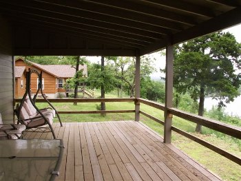 Large Deck with Lake View